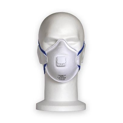 Unifit Disposable Dust Mask Ffp2v (X10)