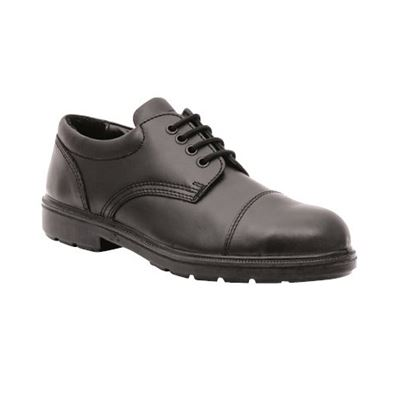 Lavoro Leather Lined Gibson Safety Shoe W/ Midsole