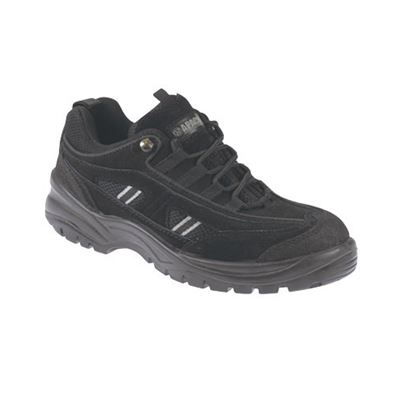 Apache Suede Safety Trainer With Midsole