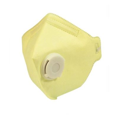 Fold Flat Valved Disposable Masks Ffpv3 (X20)