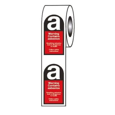 Asbestos Hazard Warning Tape