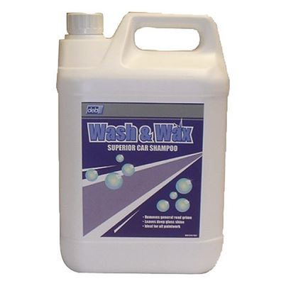 Wash And Wax Vehicle Shampoo 5l