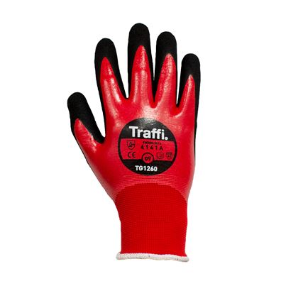 TraffiGlove Double Dipped Nitrile Glove